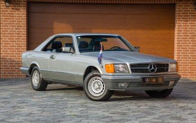 Mercedes-Benz 500SEC C126 1985