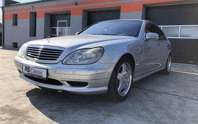 Mercedes-Benz S55 AMG W220 2002