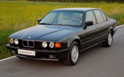 BMW 735i E32 1991