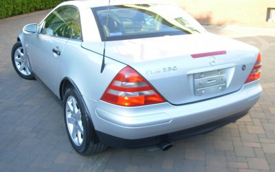 Mercedes-Benz SLK 230 R170 1998