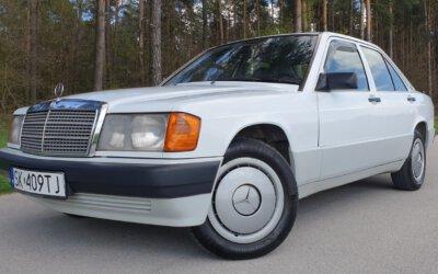 Mercedes-Benz 190D W201 1991
