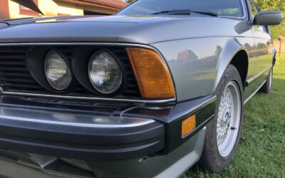 BMW 635CSI L6 E24 1987