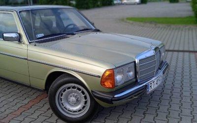 Mercedes-Benz 240D W123 1980