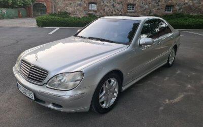 Mercedes-Benz S500 W220 2000