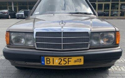 Mercedes-Benz 190E W201 1989